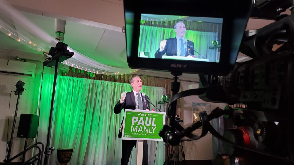 Paul manly Green Party